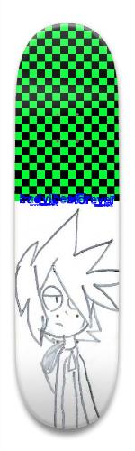 CHECKERASTURR Park Skateboard 8.5 x 32.463