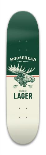 Moosehead Bigger Park Skateboard 7.88 x 31.495