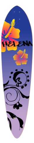 Hawai'i night Classic Pintail 10.25 x 42