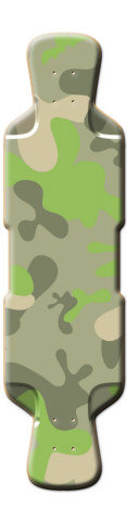 Fun Camo Perfecto 39 Skateboard Deck